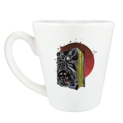 Чашка Латте Некрономикон