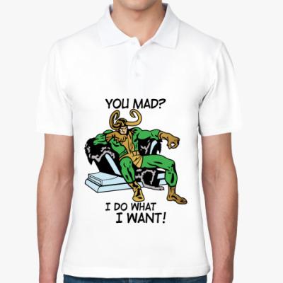 Рубашка поло  Мстители Локи
