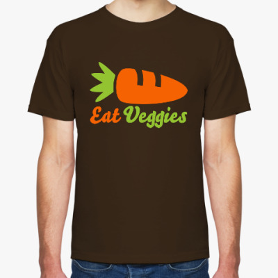 Футболка Eat Veggies