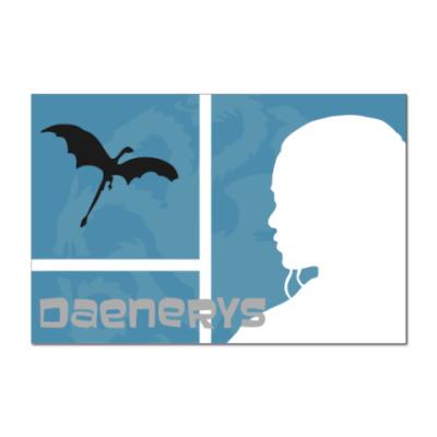 Наклейка (стикер) Daenerys