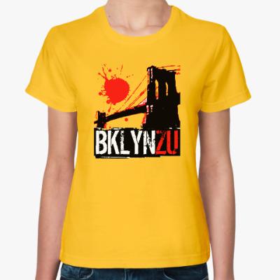 Женская футболка Brooklyn Zu