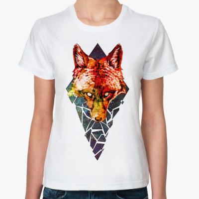 Классическая футболка Fox Brokenspace