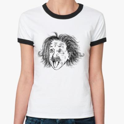 Женская футболка Ringer-T Einstein
