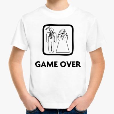 Детская футболка Game Over