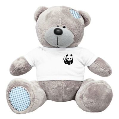 Плюшевый мишка Тедди WWF. Панда малая
