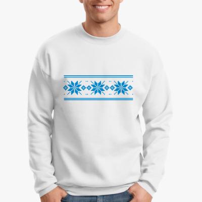 Свитшот Узор со снежинками