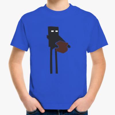 Детская футболка 'Enderman'