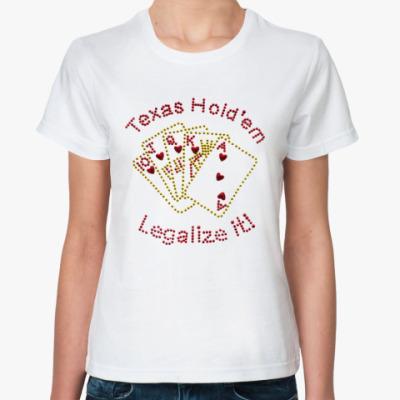 Классическая футболка biser-legalize