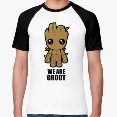Футболка реглан We are Groot
