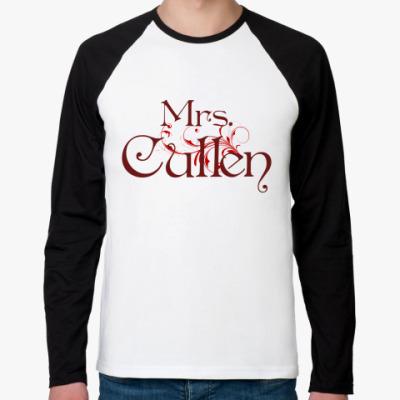 Футболка реглан с длинным рукавом Mrs. Cullen