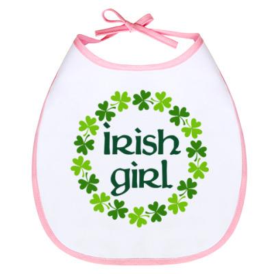 Слюнявчик Irish girl