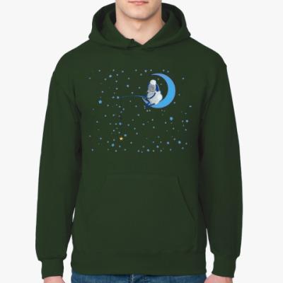 Толстовка худи Барашек на луне