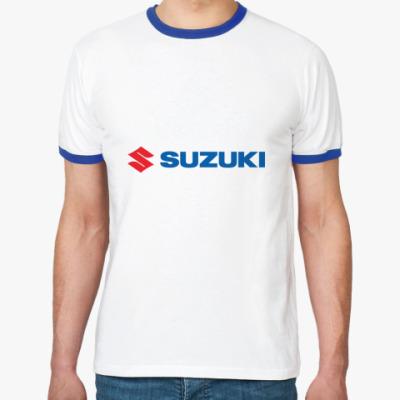 Футболка Ringer-T Suzuki