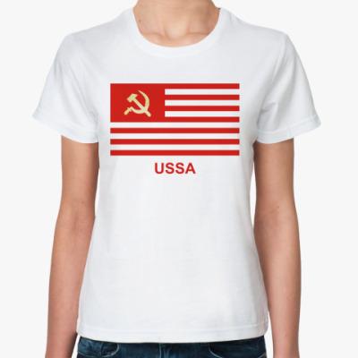 Классическая футболка USSA