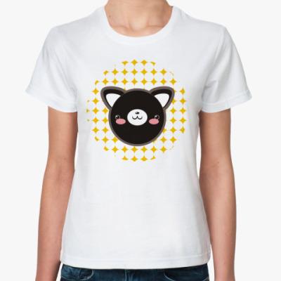 Классическая футболка 'Neko-chan'