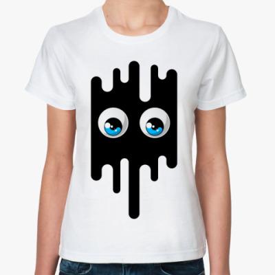 Классическая футболка глаза