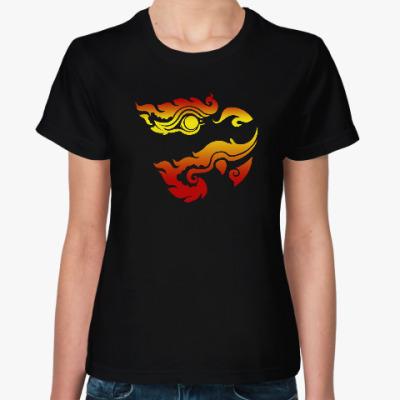 Женская футболка Обезьяна (monkey)