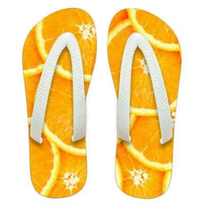 Шлепанцы (сланцы) Апельсин