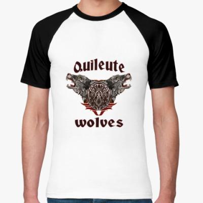 Футболка реглан Quileute wolves
