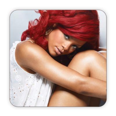 Костер (подставка под кружку) Rihanna