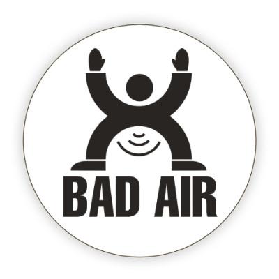 Костер (подставка под кружку) Плохой воздух