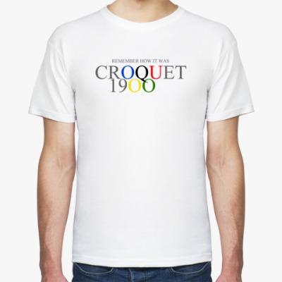 Футболка Croquet at the 1900 Olympics