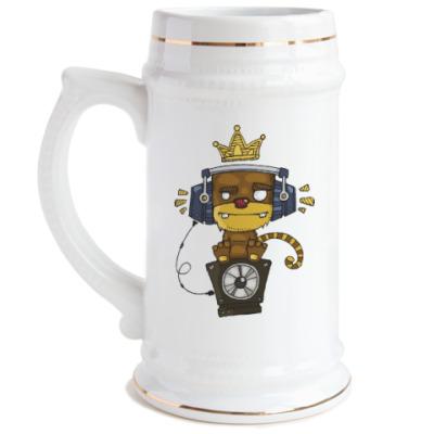 Пивная кружка Funky Monkey
