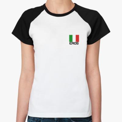 Женская футболка реглан  Parla Con Me