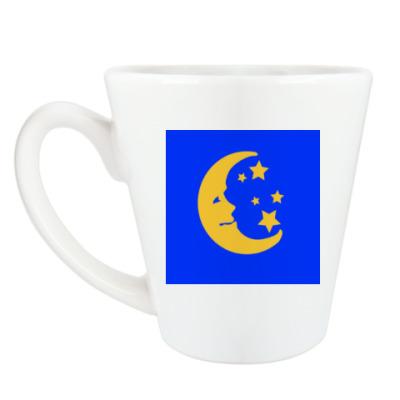 Чашка Латте 'Луна'