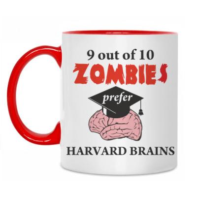 Кружка Harvard brains