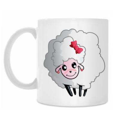 Кружка Симпатичная овечка