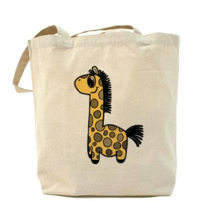 Сумка Жирафик-Холщовая сумка