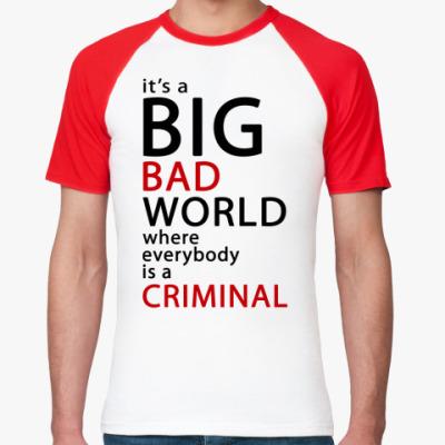Футболка реглан Bad World