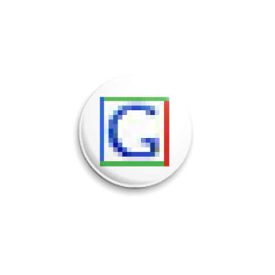 Значок 25мм  ICQ Статус #34