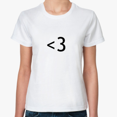 Классическая футболка Txtheart!