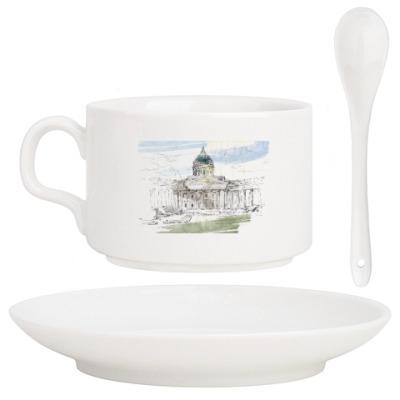 Кофейный набор Казанский собор