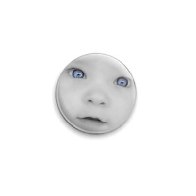 Значок 25мм  Глазки малыша