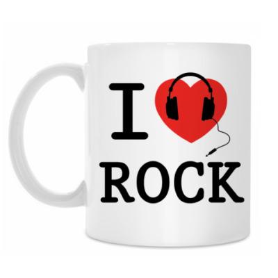 Кружка I Love Rock