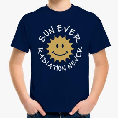 Детская футболка Солнце всегда