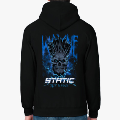 Толстовка худи  RIP Wayne Static