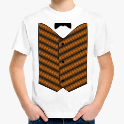 Детская футболка Жилет м.8