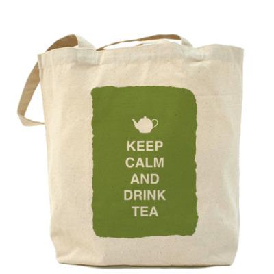 Сумка Keep calm and drink tea