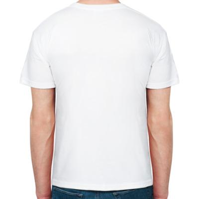 футболка белая Контра