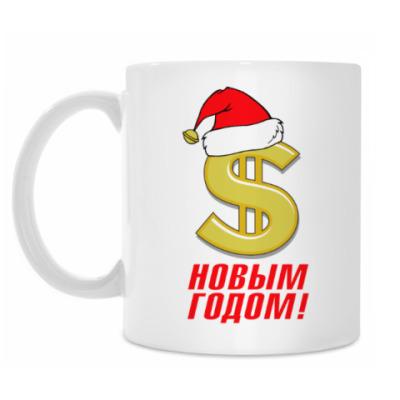 Кружка С Новым Годом. Доллар