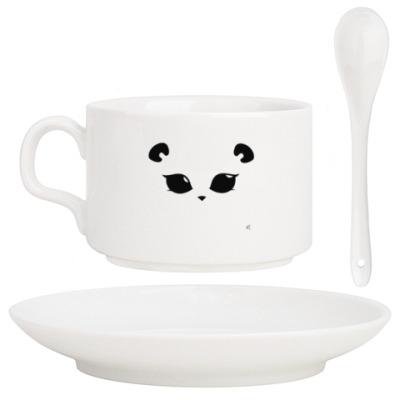 Кофейный набор Панда