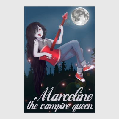 Постер Marceline the vampire queen