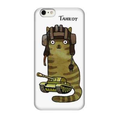 Чехол для iPhone 6/6s кот и танк
