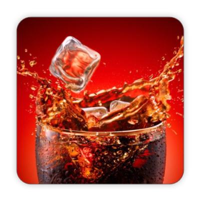 Костер (подставка под кружку) Coca cola