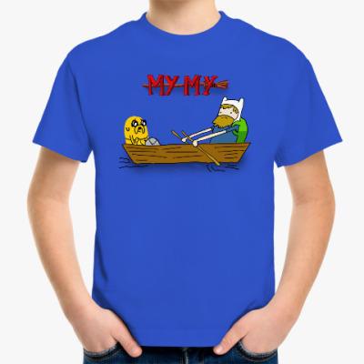 Детская футболка Время купаться