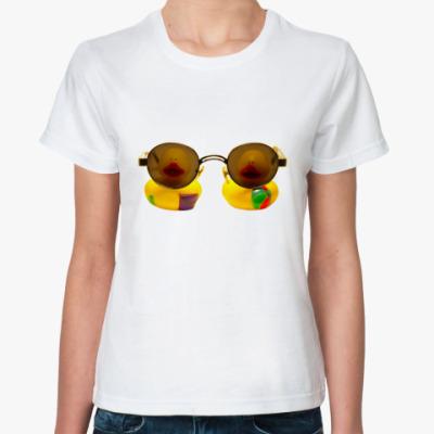 Классическая футболка Эти уточки смотрят на вас